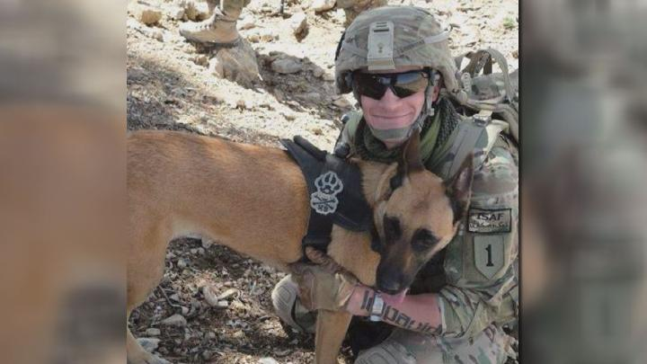 Indiana Veteran Doing All He Can To Reunite With His Soldier Dog