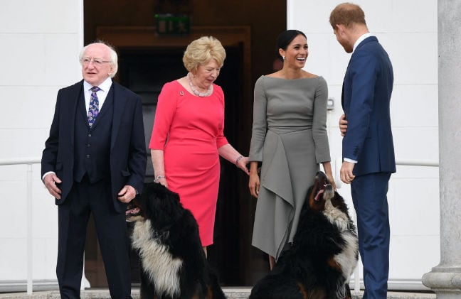 Prince Harry & Meghan Markle have reportedly adopted a new dog!