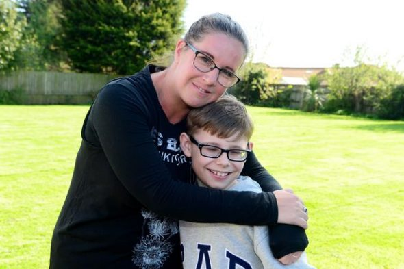 Boy, 12, who's going blind raises hundreds for information canine charity