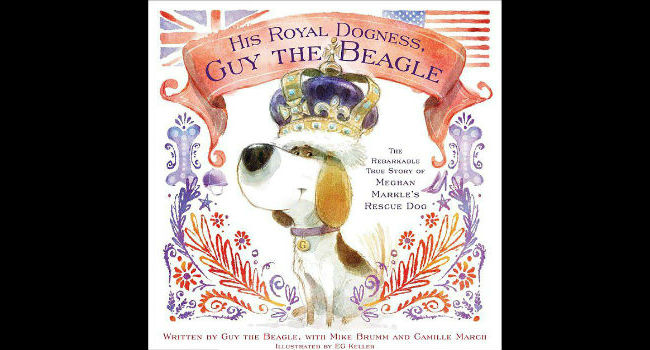 "From ""Pawper"" to Prince: Meghan Markle's dog, Guy, is getting his own children's book"
