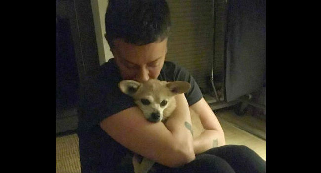 "Singer Alanis Morissette ""inconsolable"" after the loss of her beloved dog, Leelee"